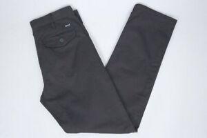 Huf-Worldwide-Footwear-Skate-Shoes-Chino-Pant-Pants-Hose-Sutter-Black-in-28