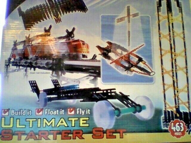 UBERSTIX   THINK OUTSIDE THE BLOX    ULTIMATE STARTER SET - 463 PIECES - AGES 8+