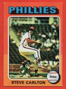1975 Topps #185 Steve Carlton EX-EX+ HOF Philadelphia Phillies FREE SHIPPING