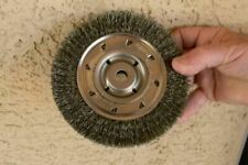 "X0763-2*B 3//4/"" 2 PCS WEILER 36046 CRIMPED WIRE WHEEL BRUSH"