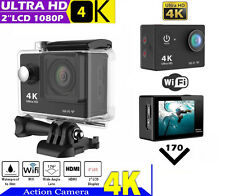 4K HD Wi-fi 12MP for SJ4000 GOPRO 5.1cm Sport Action Impermeabile Camera