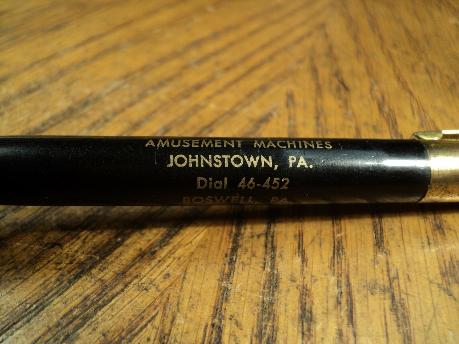 Vintage Pa Rougeipoint Portemine Sheftic Amusements Johnstown Pa - Boswell Pa Vintage 3f6231
