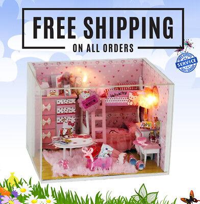 1:12 Dollhouse Miniature Accessories DIY Mini Wooden Table Doll House DecI`US