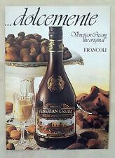 E864-Advertising Pubblicità-1996- FRANCOLI VEVETIAN CREAM