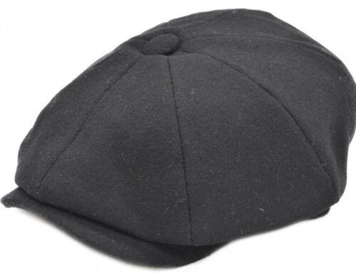 Patraque oeillères Children/'s Newsboy Hat Gatsby Cap Flat Baker Boy Kids 40/% laine