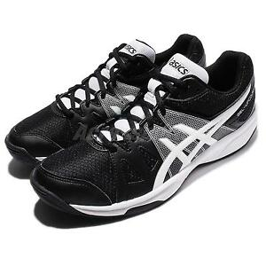 Asics Gel-Upcourt Black White Men Volleyball Badminton Shoes Sneakers B400N-9001