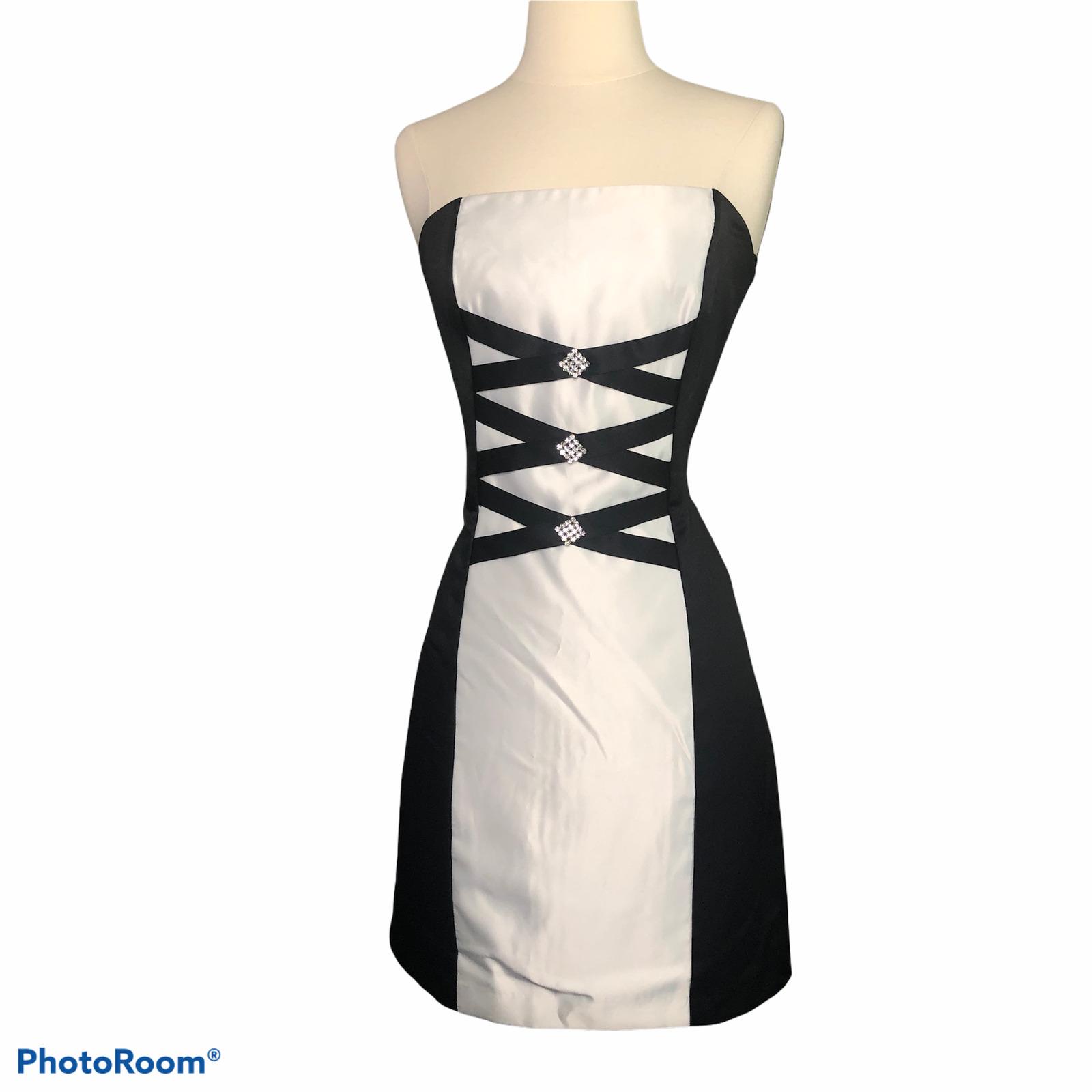 Jessica McClintock Gunne Sax Short Prom Dress 7 - image 1