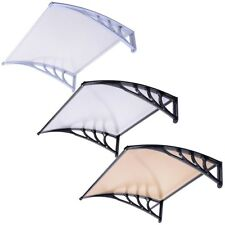 "40""x40"" Window Door Awning Sun Shade Canopy Hollow Sheet UV Rain Snow Protection"
