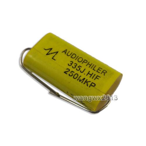 2pcs 1-47uF 250 V Audio Tweeter Haut-parleur Diviseur Crossover non-polarité Condensateur