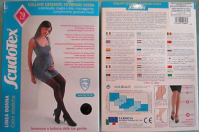 Collant Gestante 70 denari Coprenti Lusso Scudotex mmHg 15-18 Microfibra