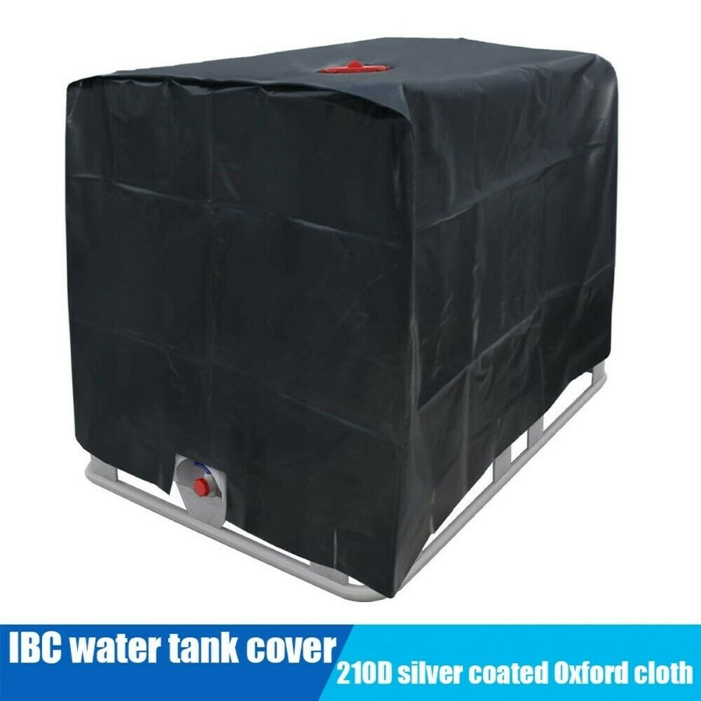Water Tank Protective Cover Waterproof 210D Oxford Cloth IBC Container Dustproof