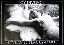 "Joy DIVISION Poster ""Love Will Tear Us Apart"""