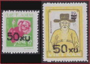 VIETNAM-N-512B-C-TIMBRES-DE-1980-SURCHARGES-1984-Vietnam-1385-1386-MNH