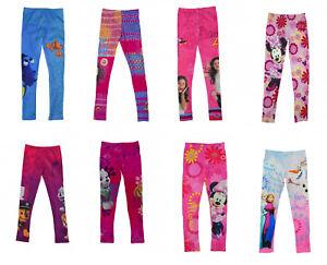 Caracter-oficial-ninos-Ninas-Suave-de-longitud-completa-Leggings-Pantalones-Ninos-Pantalones