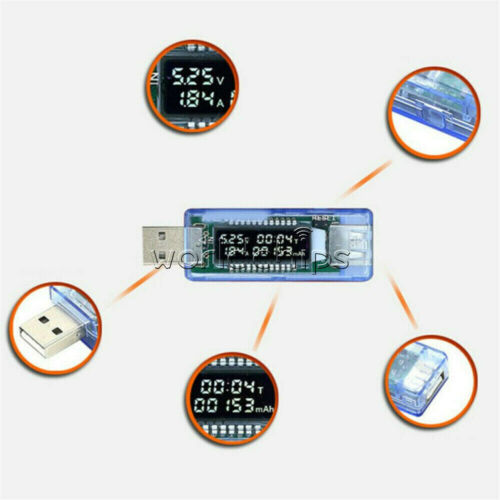 USB LCD Electronic Scam Current Voltage Trigger Power Detector Tester QC2.0 3.0