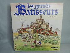 LES GRANDS BATISSEURS - Jeu de Plateau Thème Moyen-Âge - Tilsit 1998 Complet