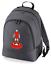 Football-TEAM-KIT-COLOURS-Liverpool-Supporter-unisex-backpack-rucksack-bag miniatuur 5
