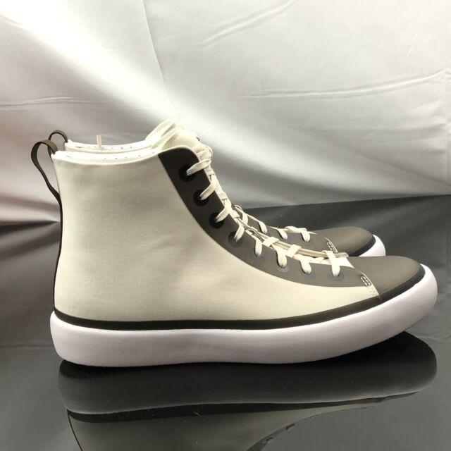 Converse Chuck Taylor All Star Modern Hi Top Cream Black White Shoes 156617C Sz