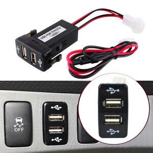 USB OEM Car Socket Lighter Charger Switch For Toyota Trucks Hilux 4Runner FJ