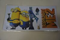 Two Set Of Despicable Me 2 Minions Wall Decal For Kids Bedroom Sticker Value