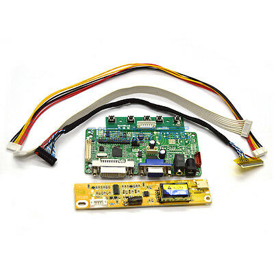 HDMI+DVI+VGA LCD Controller Board Kit for LED 1920X1080 Panel HSD173PUW1-A01