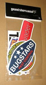 GTA V 5 Grand Theft Auto Promo Sticker Set very Rare New The Brands of GTA V - <span itemprop='availableAtOrFrom'>Braunschweig, Deutschland</span> - GTA V 5 Grand Theft Auto Promo Sticker Set very Rare New The Brands of GTA V - Braunschweig, Deutschland