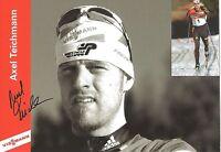 Autogramm AK Axel Teichmann Ski Langlauf Olympia 2010 Silber 2014 Sotschi Viessm