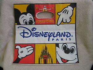Disneyland Paris McDonalds Happy Meal Paper Bag! | eBay