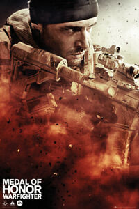 Medal Of Honor Warfighter Cover Maxi Poster 61x91.5cm FP2785 Medal Of Honor