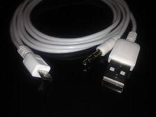 3.5mm Auto AUX Audio Micro USB Cavo 4 Samsung Galaxy s3 s2 NOTE HTC SONY UK