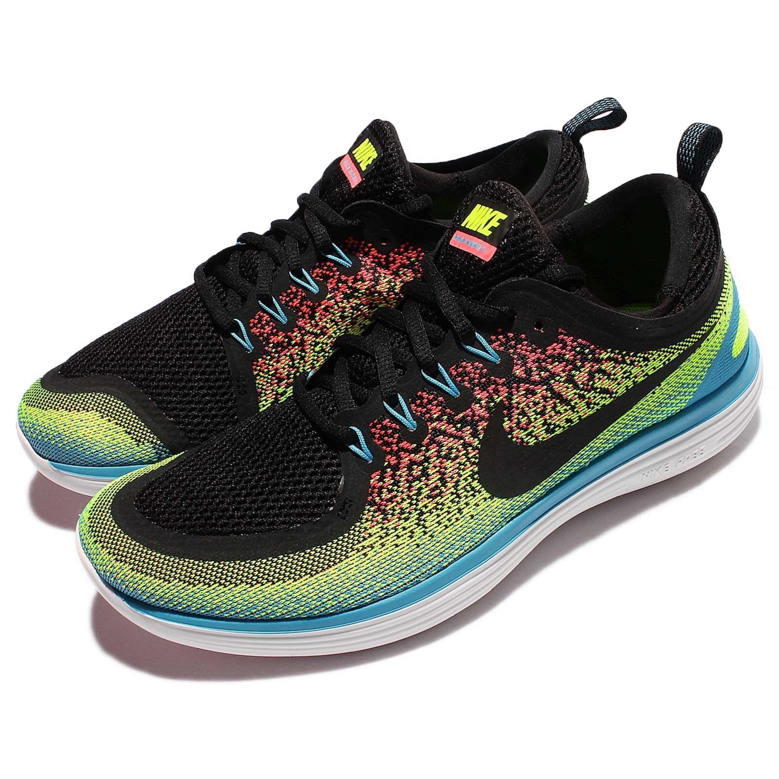 Nike Free RN RN Free Distance 2 II Run Multi-Color Men Running Shoes Sneakers 863775-701 e09b59