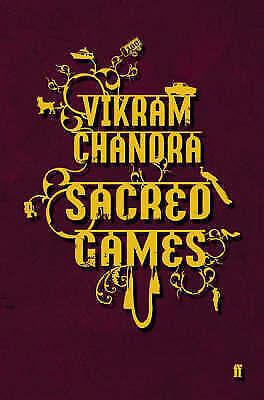 1 of 1 - New SACRED GAMES Vikram Chandra HARD BACK DUST JACKET oz seller tracking