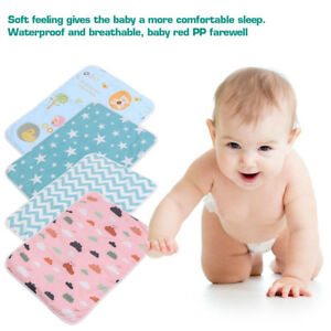 5e13fbb2d Newborn Baby Infant Waterproof Urine Mat  Changing Pad Cover Change ...