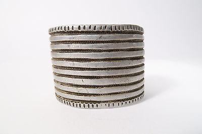 Zuversichtlich Alter Breiter Reif E Sidamo Aluminium Äthiopien Old Bracelet Ethiopia Afrozip Gute Begleiter FüR Kinder Sowie Erwachsene