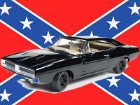Auto World Diecast 1969 Dodge Charger (happy Birthday General Lee) 1:18