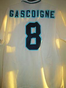 La imagen se está cargando Kla-enje-8-Inglaterra-Euro-1996-Hogar-Camiseta- e14359321a27a