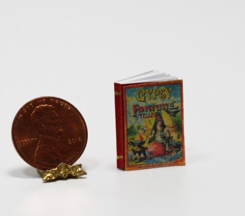 Dollhouse Miniature Halloween Gypsy Fortune Tellers Book