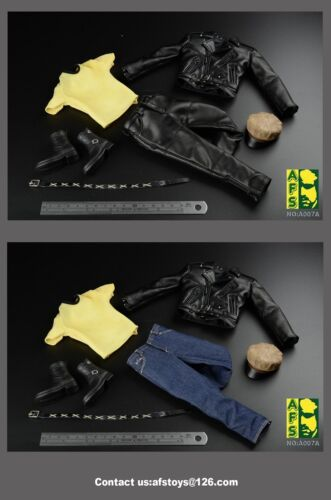 AFS 1//6 The hippies The locomotive Leather clothes suit
