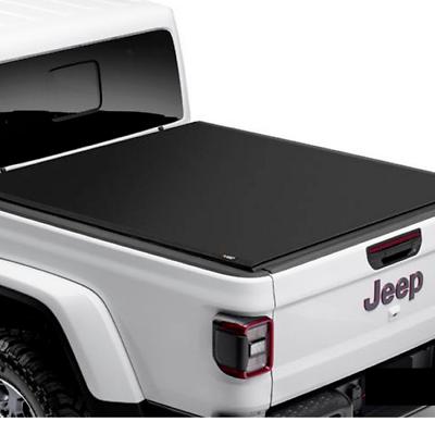2020-2021 jeep gladiator mopar oem fabric roll-up tonneau
