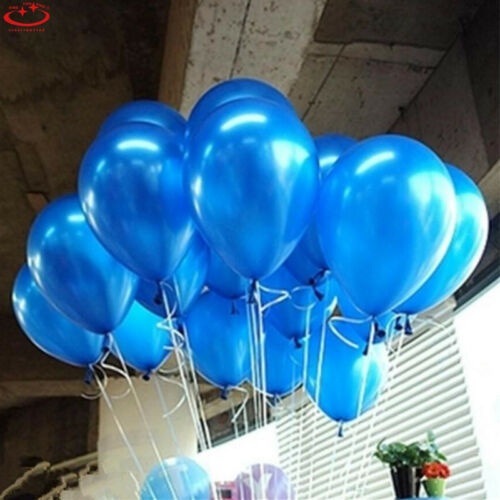 1//100pcs Colorful Pearl Latex Balloon Party Wedding Birthday Decoration 10 inch