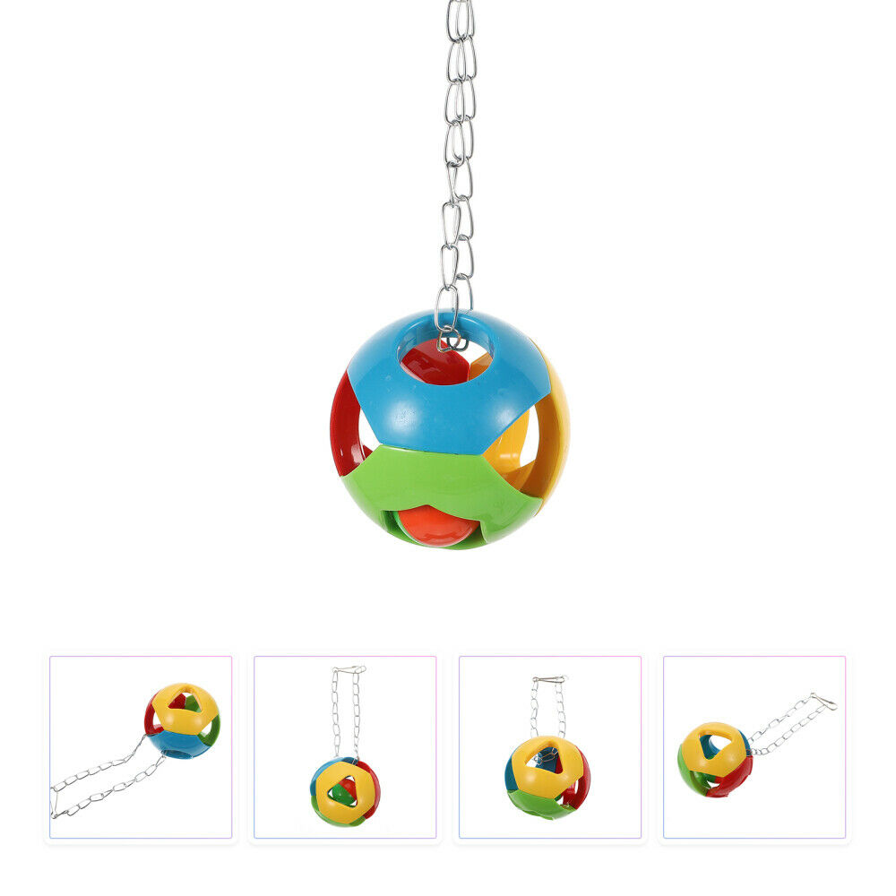 1Pc Parrot Toy Funny Fine Teething Toy Bird Grinding Pendant