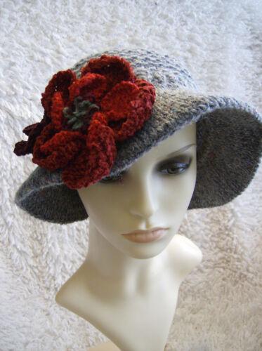 Silver Ridge Ladies Brim Hat Easy Aran Knitting Pattern