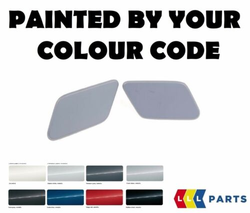 NEW BMW F25 M SPORT HEADLIGHT WASHER COVERS SET PAINTED BY YOUR COLOUR CODE