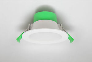 10-x-10W-IP44-NON-DIMMABLE-LED-DOWNLIGHT-KIT-CUTOUT-WARM-COOL-WHITE-DAY-90mm
