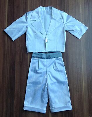 Angemessen Jungen - Anzug - Weiß - Festlich - Gr.68