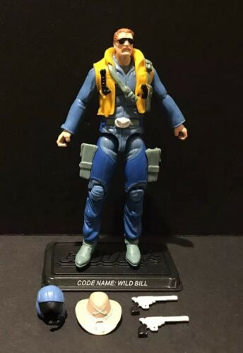 G.I Joe 25th Wild Bill  V12 Comic Pack Figure Complete