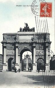 75-Paris-Arc-de-Triomphe-du-Carrousel-1909