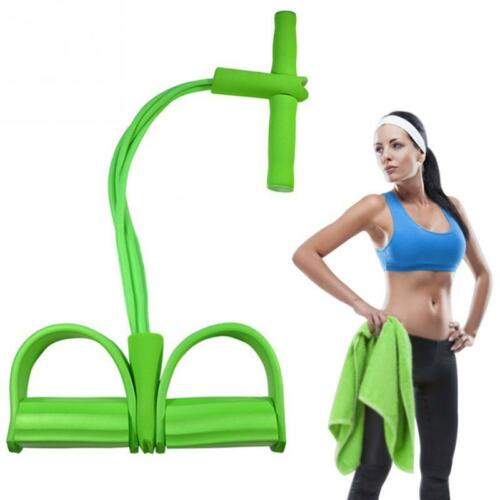 FITNESS ELASTIC SIT UP PULL ROPE YOGA ABDOMINAL EXERCISER GYM EQUIPMENT SPORTS