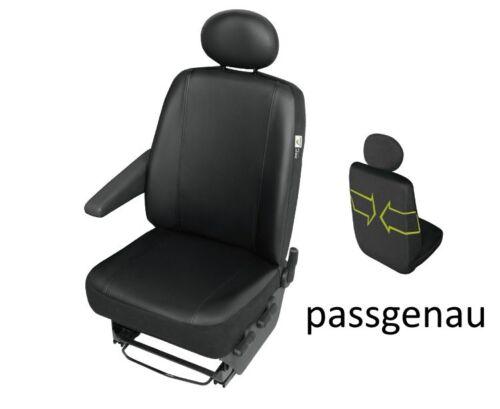 Kunstleder Sitzbezüge RENAULT TRAFIC bis 2014Schonbezüge DV123s3TRAFIC Passgenau