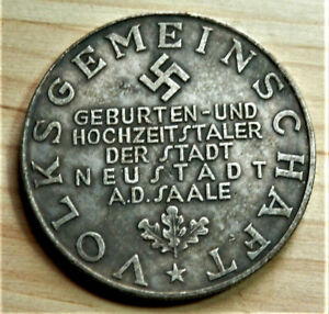 GERMAN COLLECTORS COIN AHITLER. REICHSMARK
